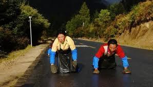Người Tây Tạng tam bộ nhất bái