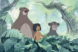 Mowgli với Baloo và Bagherra