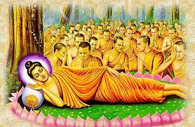 Đức Phật tịch diệt tại rừng cây sala