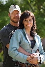 Chris Kyle và vợ Taya