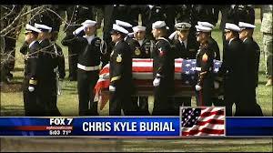Đám tang của Chris Kyle