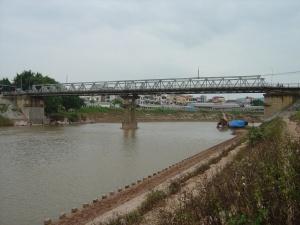 Cầu Kỳ Lừa trên sông Kỳ Cùng