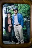 Ông bà Setsuko và ông Koichi Nanbu.