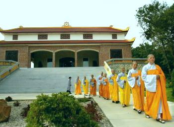 Thiền viện Quang Chiếu, Texas