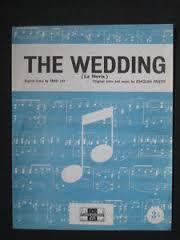 """Đĩa hát """"The Wedding"""""""