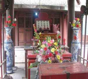 Đền thờ Nguyễn Hiền với 4 câu đố