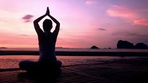 Một người tập Yoga