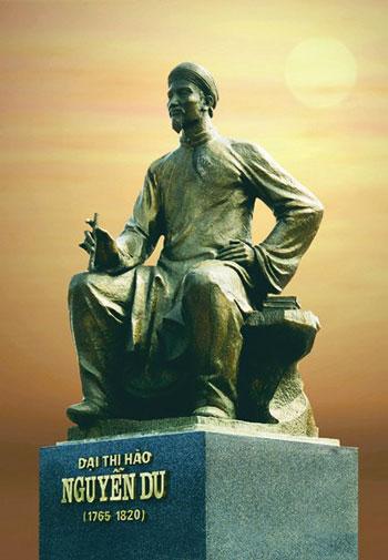 Tượng Đại Thi hào Nguyễn Du