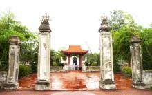 Tổng thể khu mộ Nguyễn Du