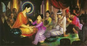 La Hầu La xin Đức Phật chia gia tài