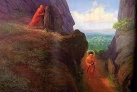 Đề Bà Đạt Đa định lăn đá giết Phật