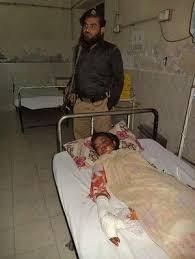 Saba nằm trong nhà thương phải có lính gác