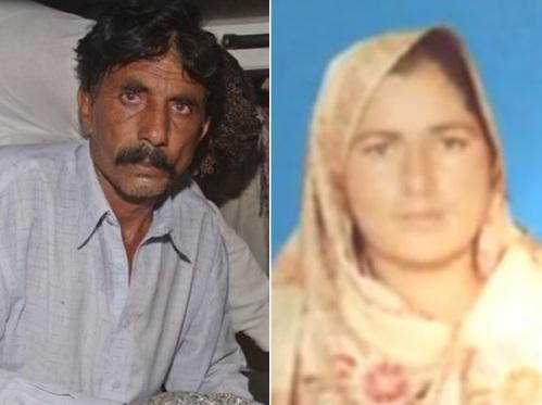 Cô Farzana Parveen và chồng