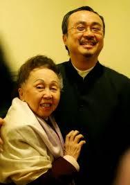 Đặng Thái Sơn với Mẹ, bà Thái thị Liên