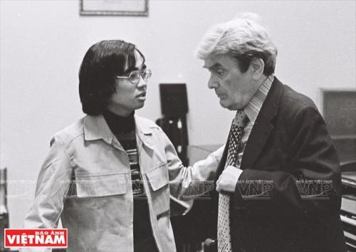 Đặng Thái Sơn với Giáo sư Natason